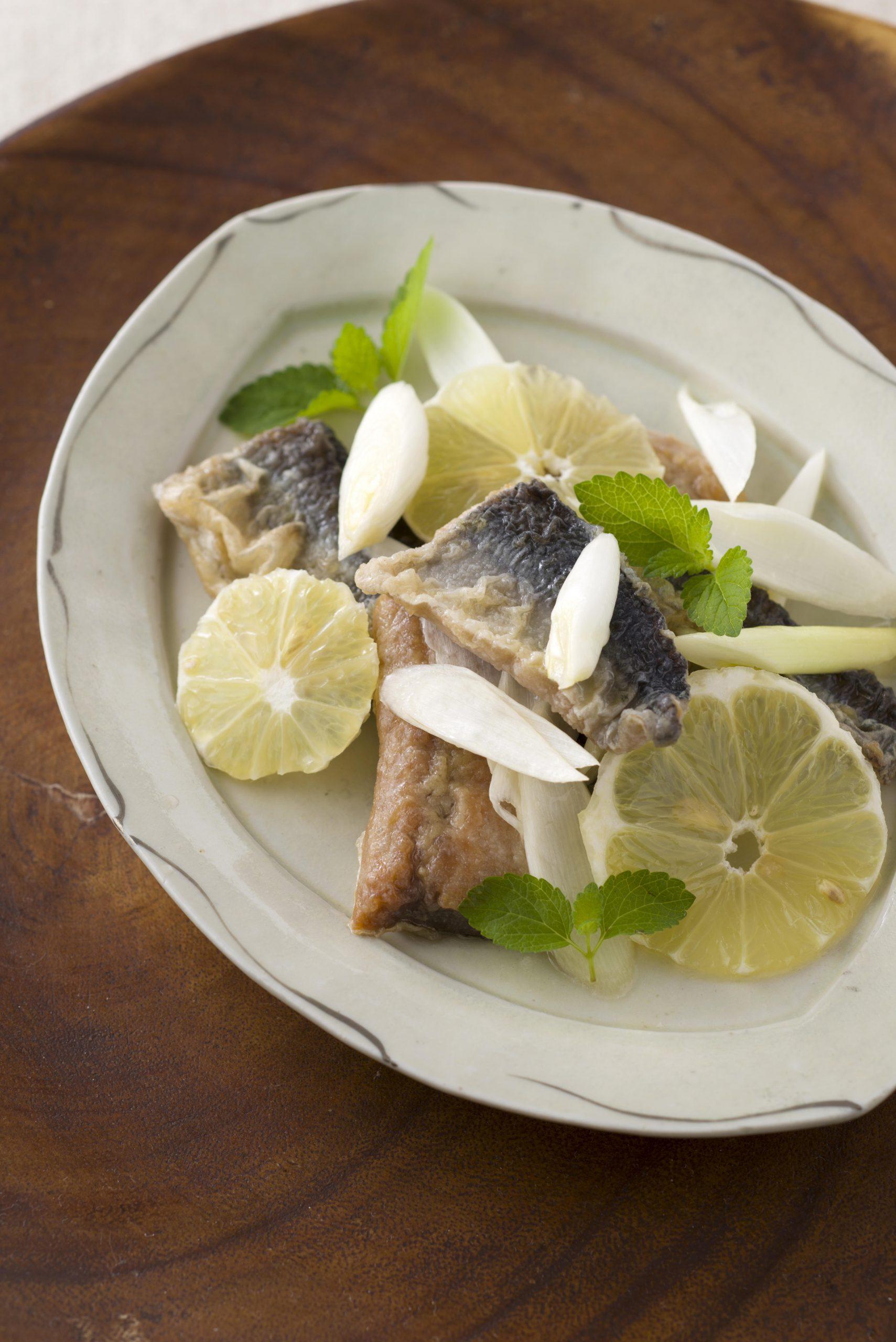 【狭窄症対策レシピ】サンマのレモンマリネ
