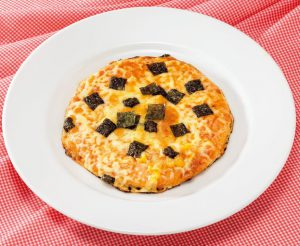【狭窄症対策レシピ】ノリとチーズのピザ