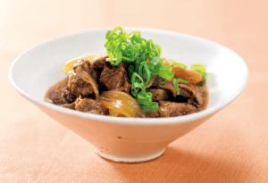 【狭窄症対策レシピ】タマネギと牛スジ煮込み