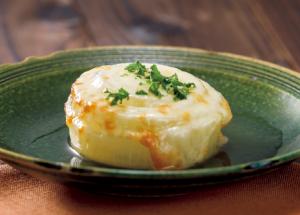 【狭窄症対策レシピ】くたくたタマネギのチーズ焼き