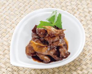 【狭窄症対策レシピ】豚ハツとショウガの甘辛煮