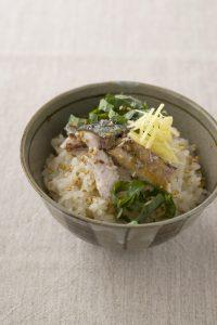 【狭窄症対策レシピ】サンマご飯