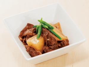 【狭窄症対策レシピ】牛スジのダイコン煮
