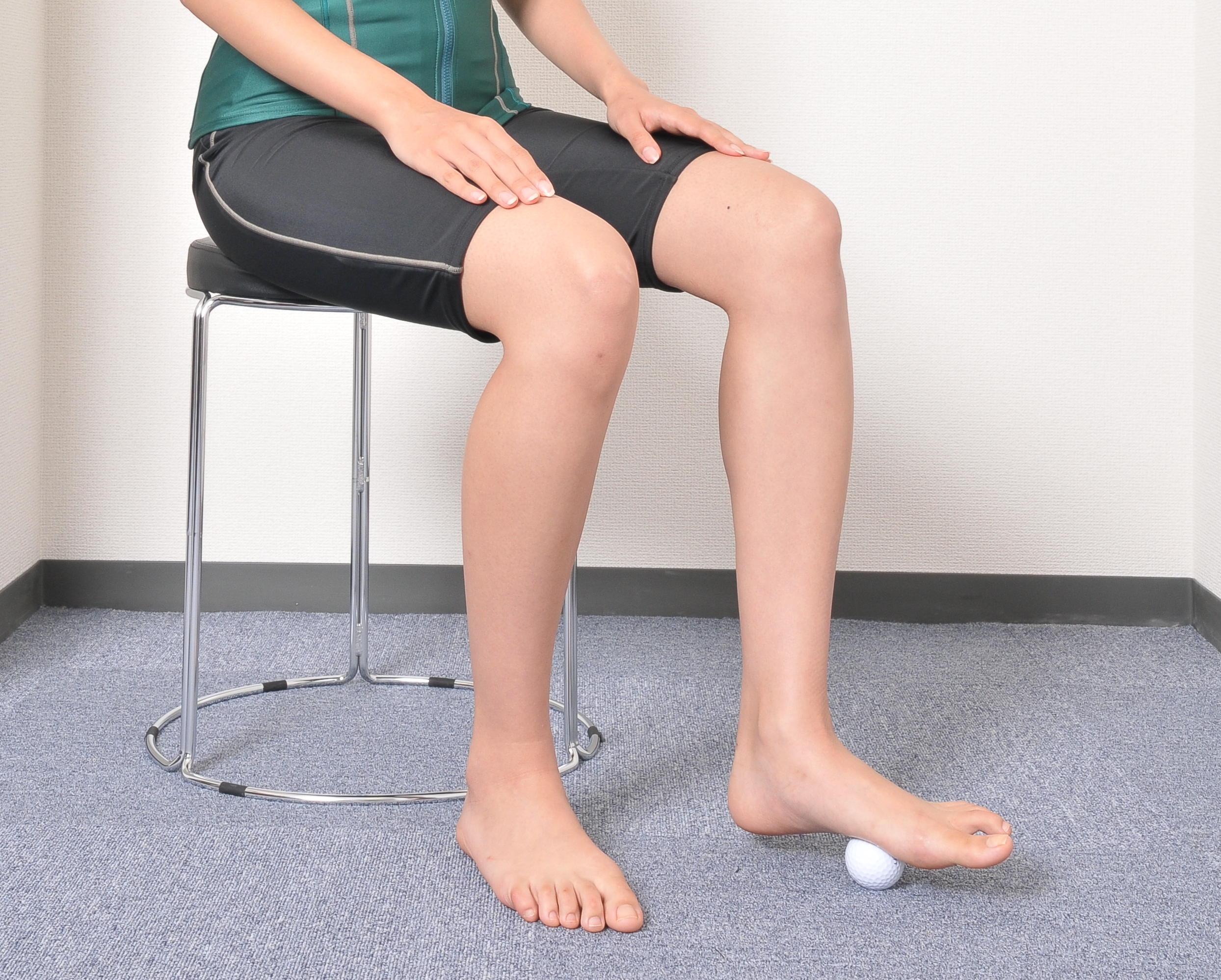 【ドクター清水の診療日記1】足裏のしびれ・違和感に「ゴルフボール押圧」