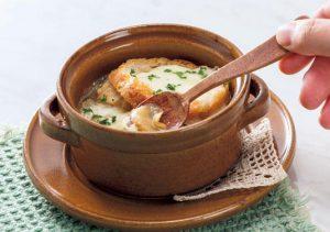 【狭窄症対策レシピ】ショウガのオニオンスープ