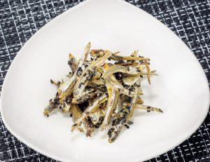 【狭窄症対策レシピ】煮干しの田作り