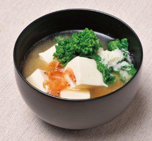 【狭窄症対策レシピ】チーズみそ汁でカルシウムをとってイライラを防ぐ?