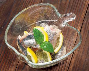 【狭窄症対策レシピ】イワシのレモンマリネ