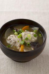 【狭窄症対策レシピ】サンマ団子と根菜の具だくさん汁
